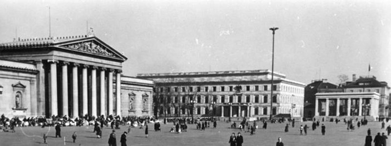 Munich Königsplatz 1930's (Bundesarchiv Photo)