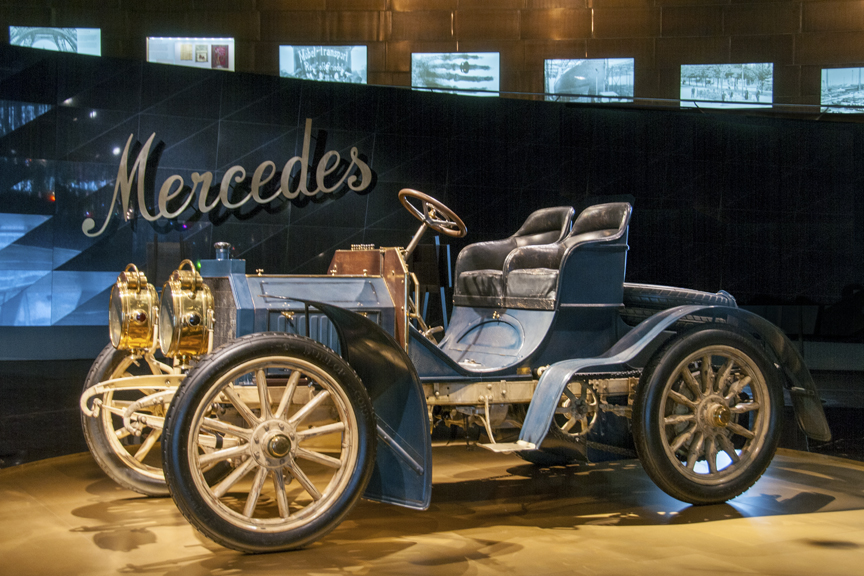 History of the Car: Mercedes Museum | Old World Tours