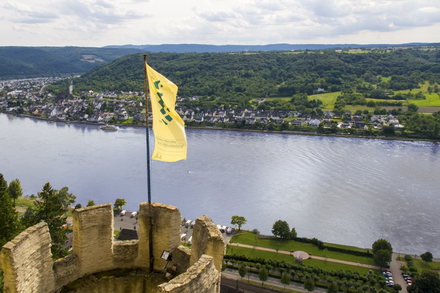View from Marksburg Castle