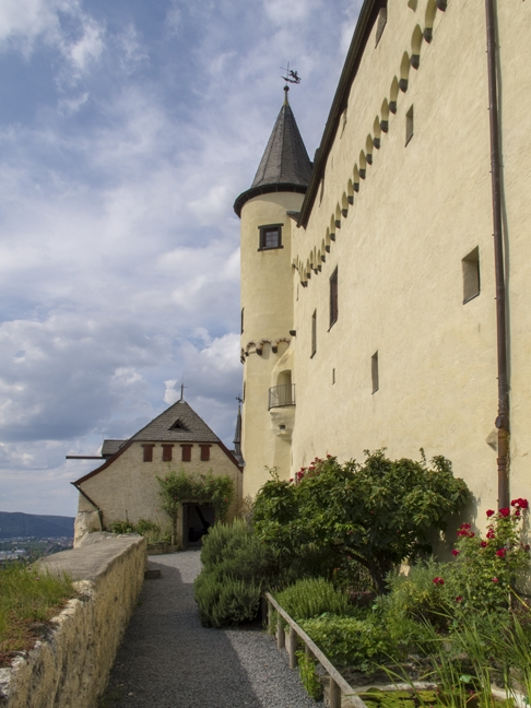 At the Marksburg Castle