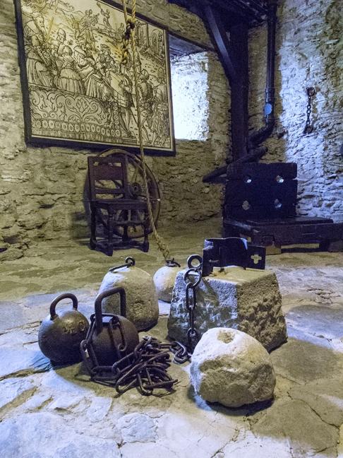 In the Marksburg Castle