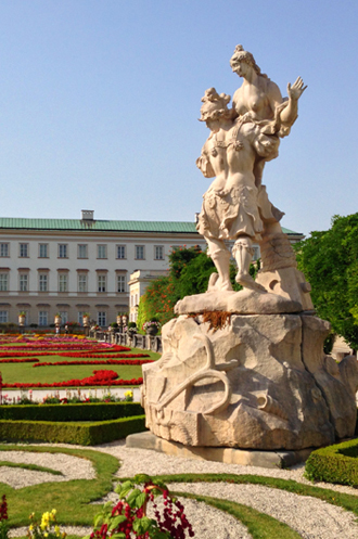 Salzburg Mirabel Gardens