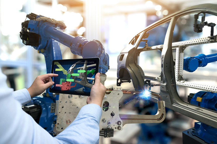 Modern Automobile Factory Testing